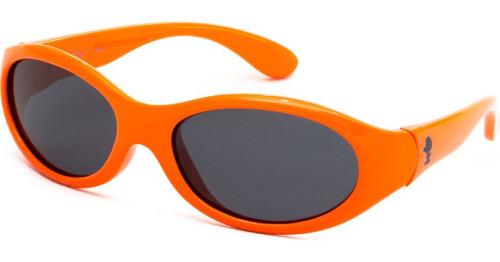 Γυαλιά ηλίου παιδικά polarized unisex πορτοκαλί smurfs INVU X2593A