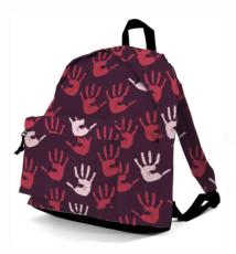 bcb06d14a4 Benzi backpack σακίδιο πλάτης Benzi BZ-4054 RED