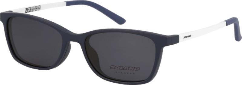 6a5fa79f20 Γυαλιά οράσεως με clipon ηλίου παιδικά SOLANO CL50015E