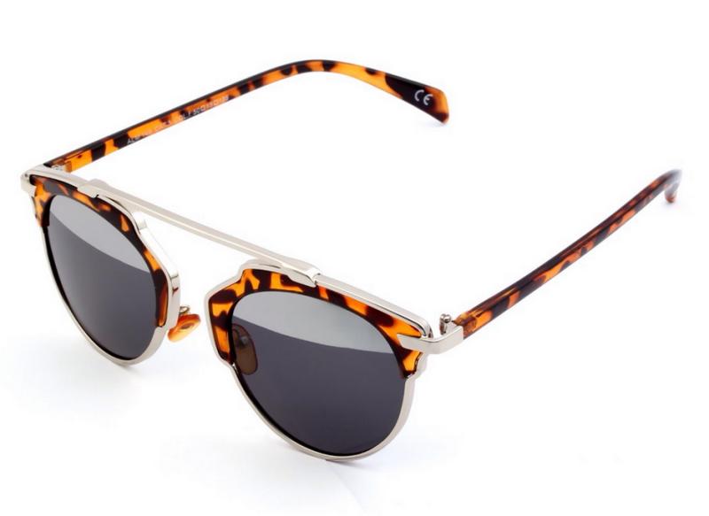 7ea3ef02bc Γυναικεία Γυαλιά ηλίου 2016 με σκελετό Leopard - hotstyle.gr