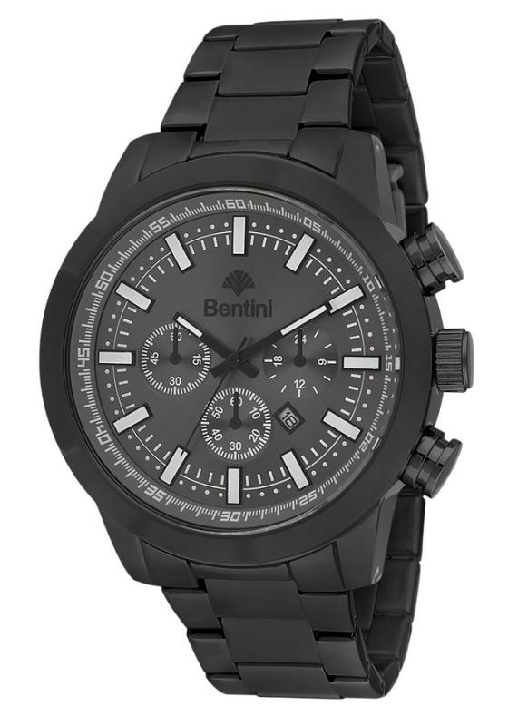 Ρολόι ανδρικό με μαύρο μπρασελέ Bentini 15M75 4185bf63cde